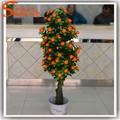 لوسي الزخرفية شجرة البرتقال الاصطناعي للديكور الفندق