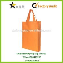 2015 Color printed high quality promotional non woven bag,Non woven Hand bag