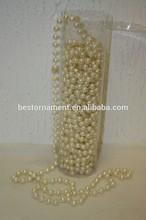 10M Ivory pearl garland/String WEDDING DECORATION