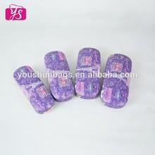Beautiful purple Effiel tower leather glasses case