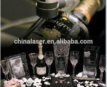 Small Desk Storm 500 mini glass bottle / Fabric Laser Engraver price
