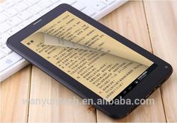 M777 7 inch allwinner cheap tablet pc 2G SIM card dual core tablet