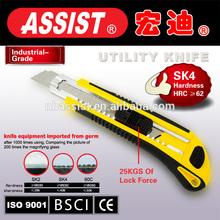 Custom 18mm utility Knife,stainless utility knife cutter pocket