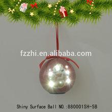 New Style Christmas Tree Decoration Hanging Ball Flash LED Light Ball