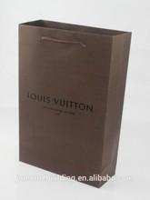wholesale luxury shopping paper bag custom printed paper bag