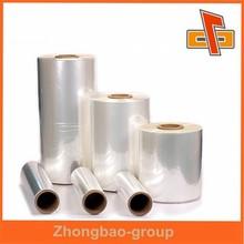 plastic shrink film manufacturer cast PVC shrink film/transparent PVC shrink wrap film/blue pvc heat shrink film roll