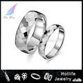 vendedores quente tungstênio facetada anel anéis de amizade
