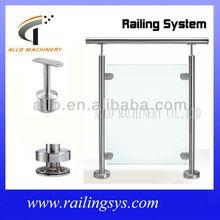 stainless steel handrail post brackets