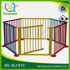 Baby safety 8 sides playpen/large playpen in wood factory/hot sale baby furniture