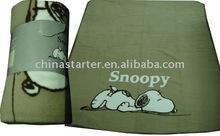 children cartoon design fleece blanket