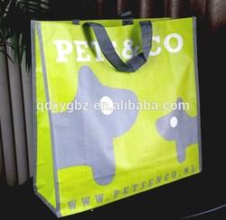 Bopp Laminated PP Woven Shopping bag in Qingdao