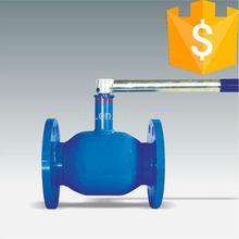 handle flange welded ball valve