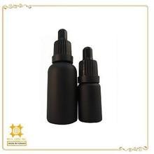 Eau de parfum and essential oil child proof dropper glass bottle
