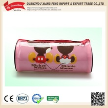EN71 approved fashional kids pen zipper pvc bag
