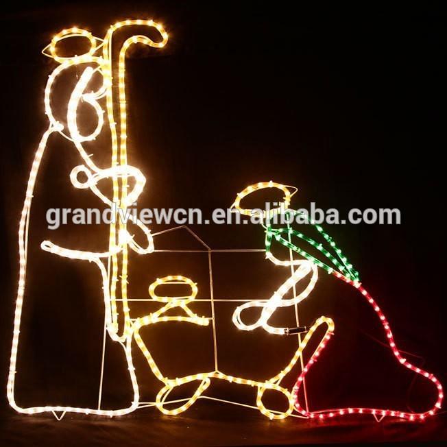 Wire Nativity Scene 110cm High Nativity Scene