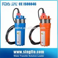 Singflo 4'' 96W 24v power pump/6LPM 30M submersible pump solar