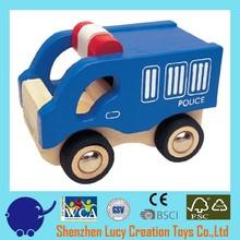 Mini Prisoner's Van wooden car toy