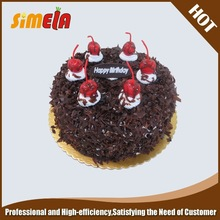 Artificial model of fake birthday cake