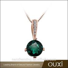 OUXI Latest design shining zircon wholesale fashion turkish jewelry