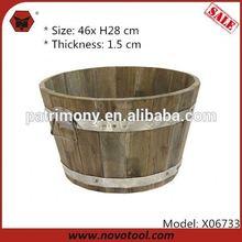 Classic Flower Pot/ antique brass urn