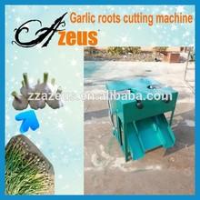 fresh garlic root and stem cutting machine/garlic root cutting machinery