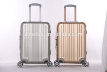 Travel trolley luggage/ aluminum luggage