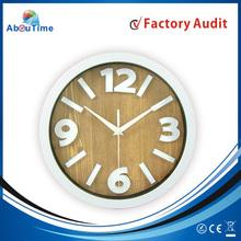 2015 wedding decoration Plastic Wall Clock/wall clock frames