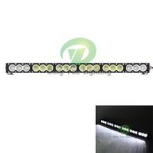 32.5''spot headlight amber led light bar 180W police led roof light bar