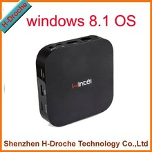 W8 32GB Version Mini PC & TV BOX Quad-Core Intel Atom Z3735F Windows 8.1 OS 2GB RAM Portable PC mini computer wintel
