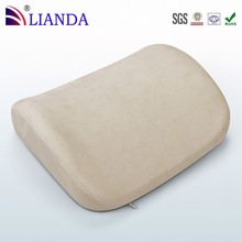 Unique design helps stimulate blood circulation custom adjustable lumbar cushion