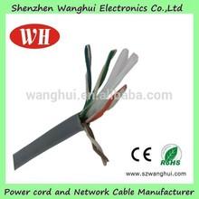 1000ft cat7 lan cable,cat 6 cables Shielde 23W 550MHZ UTP C2G CM CCA CMR, cat 6 cables