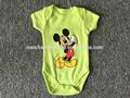 2015 verão algodão roupa do bebê recém-nascido china