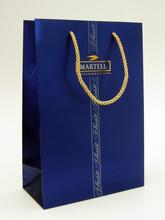 Martell cognac wine paper bag