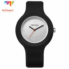InTimes IT-092 Colours Silicone Band child watch Girl Watches White 50M Waterproof