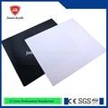 Profesional de la fábrica negro 502 y blanco hoja de acrílico / plexiglás