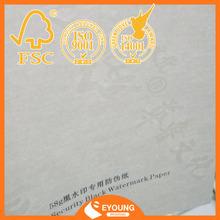 75% cotton 25% linen banknote paper