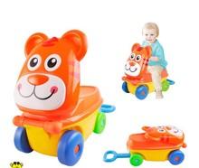 top selling lovely cartoon plastic kids luggage