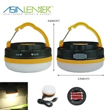 High Brightness USB Rechargeable BT-4672 Portable Camping Lantern