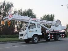 Hydraulic arm truck crane,small conventional truck crane Latin America