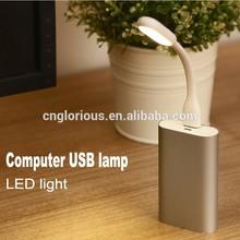 Hot sale portable led desk lamp with usb port for PC Laptop USB LED Lamp