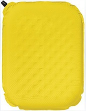 yellow plastic inflatable back support cushion bath cushion