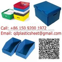 Polypropylene Corrugated Plastic File Storage Box