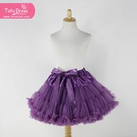 wholesale colorful tulle fluffy tutu skirt for baby girls pettiskirt shorts latest skirt design pictures children tulle skirt
