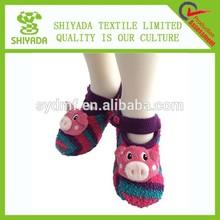 custom design cozy adult sock shoes