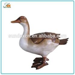 Economic unique polyresin duck figurines