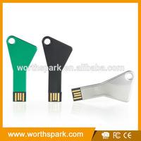 different types key shape usb flash drives