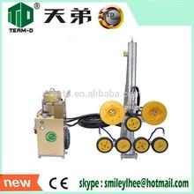 Reinforced concrete cutting machine Team-D TD002 hydraulic wire saw machine