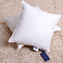 duck down feather cushion in 100% cotton fabric for home /hotel use