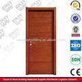 Folheado de madeira porta de entrada moderna
