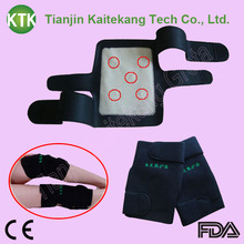 Popular magnetic black color cheap price heating knee protection belt